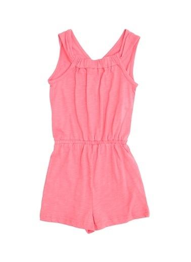 Pink&Orange Elbise Mercan